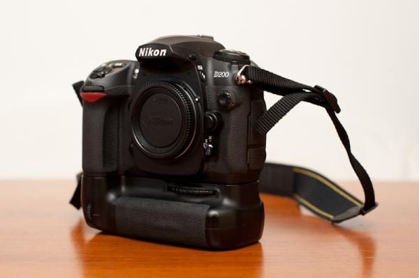 Nikon D200 Body mit Batteriegriff