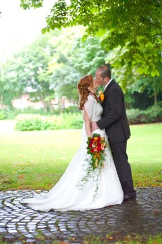 das richtige timing bei der Hochzeitsfotografie