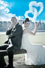 Aussergewöhnliche Brautpaarshootings in Köln, Bonn und Umgebung