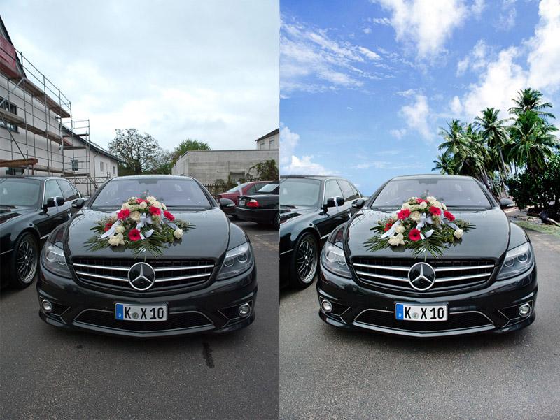 Bildmontage und Retusche in Photoshop