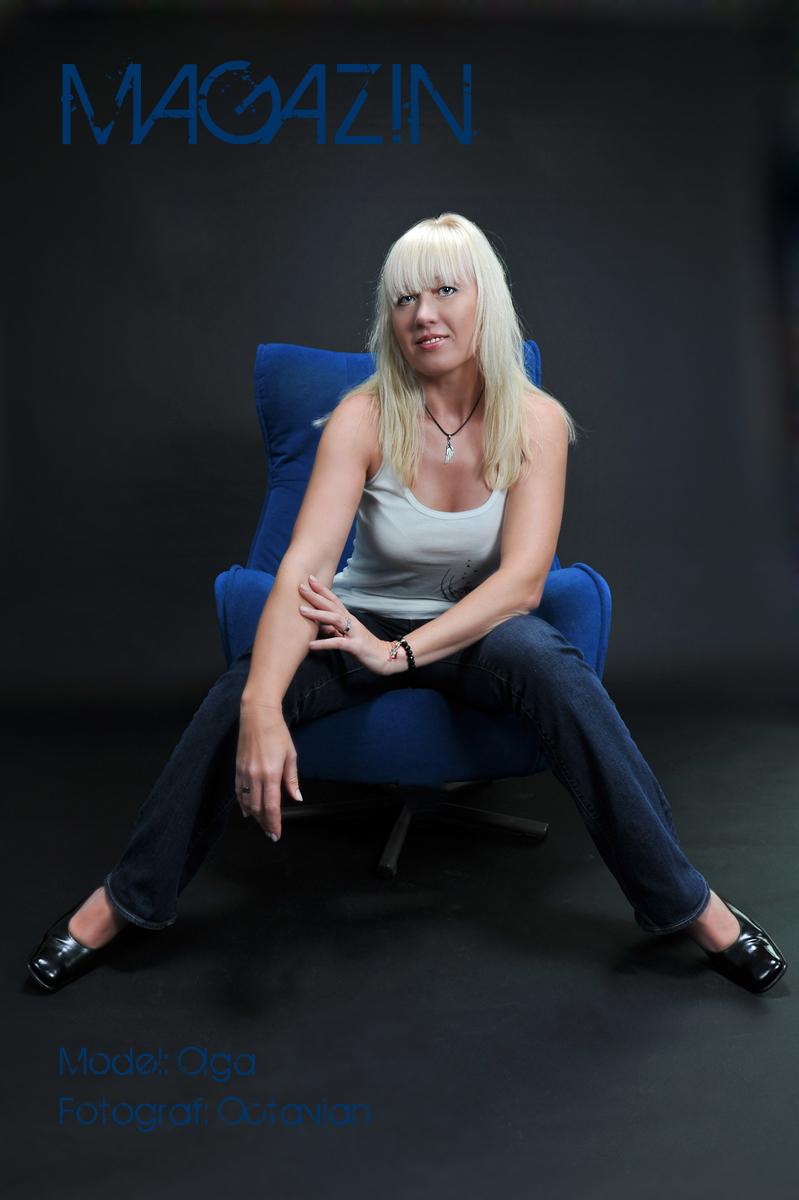 Portrait Shooting mit Model Olga vom Fotografen Octavian Horn aus Köln