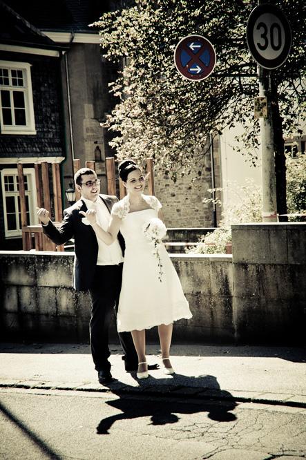 Trampen am Hochzeitstag 2012 in Solingen