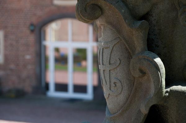 Mit der Liebe zum Detail entdeckt man immer mehr schöne Ecken rundum das Schloß Loersfeld