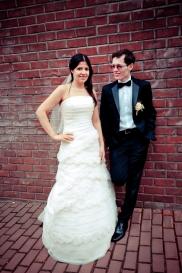 Hoher Kontrast und Sättigung heben Hochzeitsfotos hervor und machen diese einzigartig
