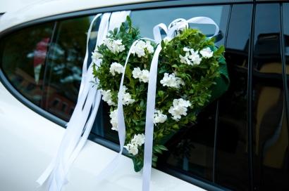 Das Hochzeitsauto ist ein wichtiger Bestandteil beim heiraten