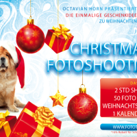 Professionelles Fotoshooting zu Weihnachten inkl. Foto-Kalender
