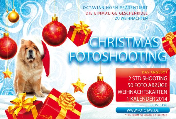 Die beste Geschenkidee zu Weihnachten finden SIe bei fototavi ein Christmas Fotoshooting