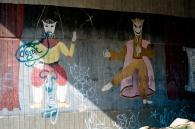 Wandmalereien sind in Chorweiler an der Tagesordnung