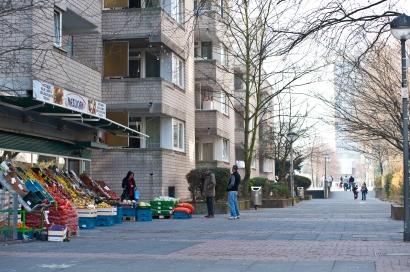 Eine Mall werden Sie in Chorweiler nicht finden, dafür viele kleine internationale Supermärkte