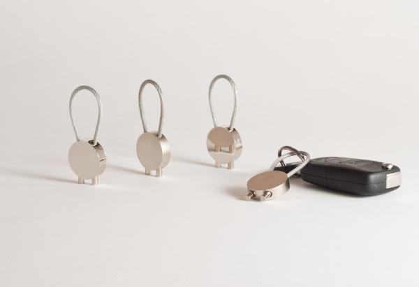Produktfotografie eines Schlüsselanhängers