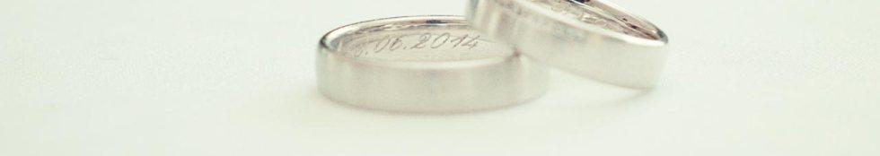 Ohne Eheringe kann man nicht heiraten
