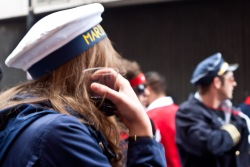 Die Marine feiert ebenfalls Karneval