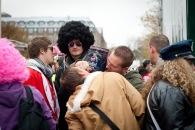 Perücken sind eine gute Verkleidung für den Karneval in Köln