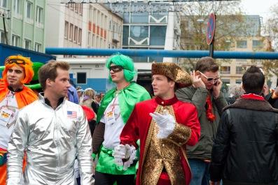 Lustige Karnevalskostüme werden am 11.11.14 vorgestellt