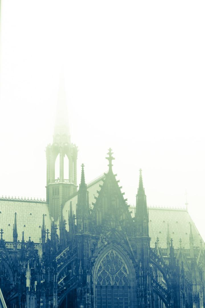 Die restaurierte Kölner Domspitze