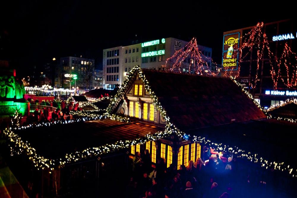 Ein kurzer Besuch auf dem Kölner Weihnachtsmarkt (1/6)