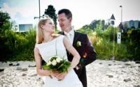 Ziel des Fotografen ist es, das perfekte Hochzeitsfoto zu schiessen