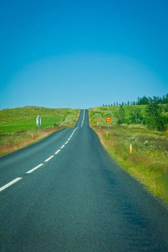 Die legendäre A1 auf Island