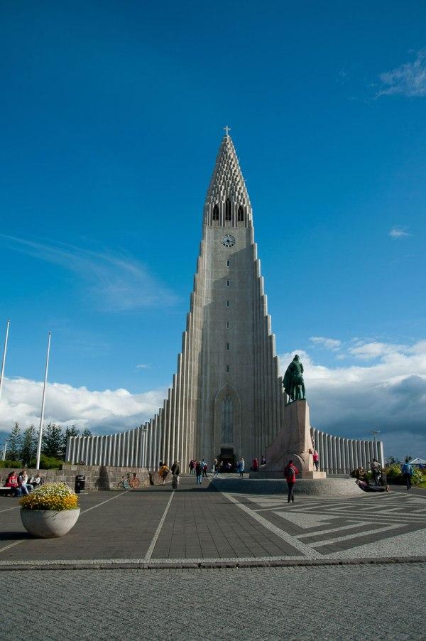 Eines der bekanntesten Kirchen Islands