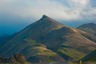 Hier sieht man die Spitzen eines Berges