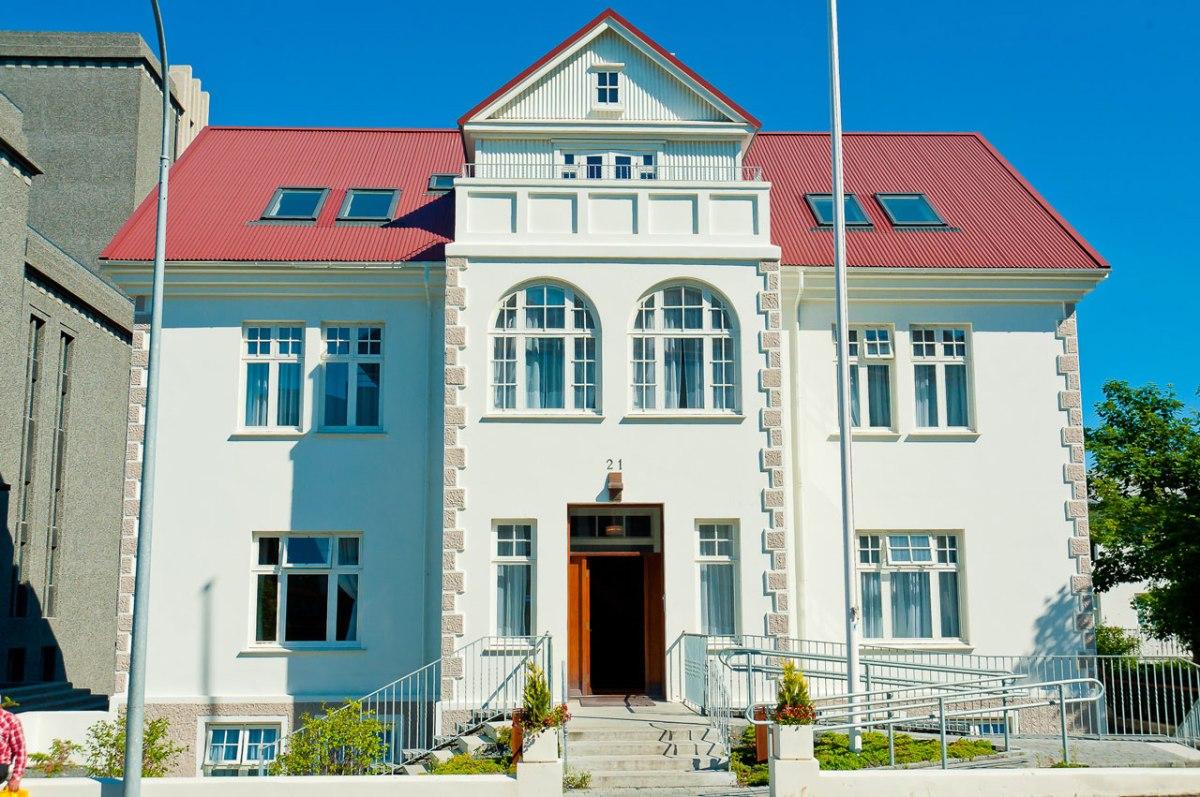 Gebäude der Botschaft