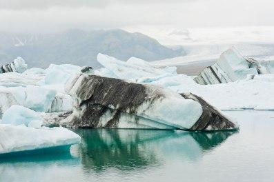 schwimmende Eisscholle