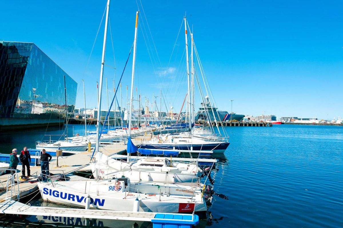 Reykjavik Hafen