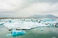 Der Norden Islands ist von Eisschollen bedeckt
