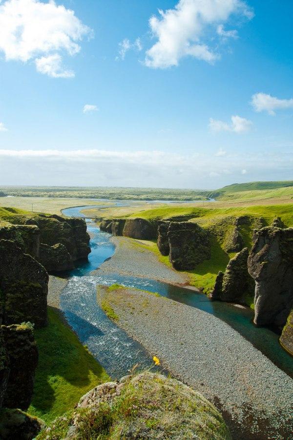 Tolle Landschaften finden sich im Osten Islands