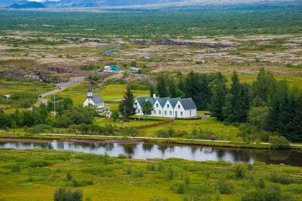 Auf dem Weg nach Reykjavik