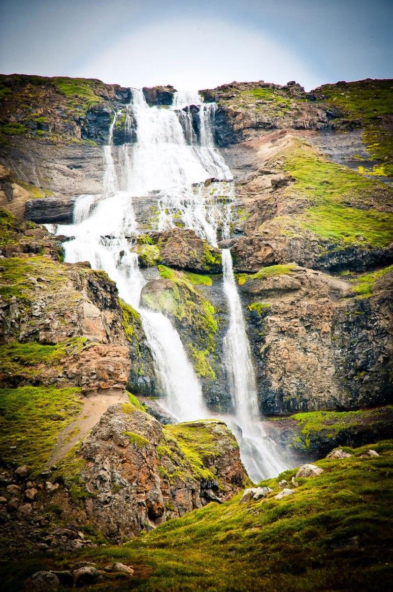 Kleinerer Wasserfall