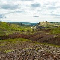 Wandern am Skaftafell-Nationalpark, Island