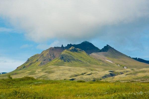 Mit nur 1500 Meter macht das Wandern auf Island richtig Spaß