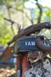 An diesem Bild merkt man aus wie vielen Teilen das Motorrad bestand