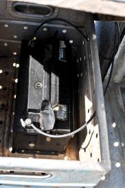 Diese 12V Batterie diente als Stromspeicher