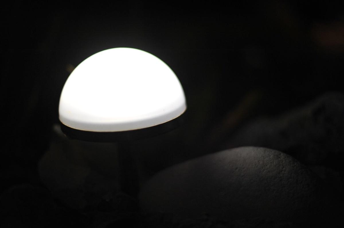 Die Beleuchtung darf auch hier nicht fehlen