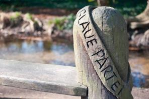 Holzskuptur im Dünnwälder Tierpark