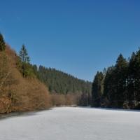 Schönes Deutschland - Aggertalsperre in NRW