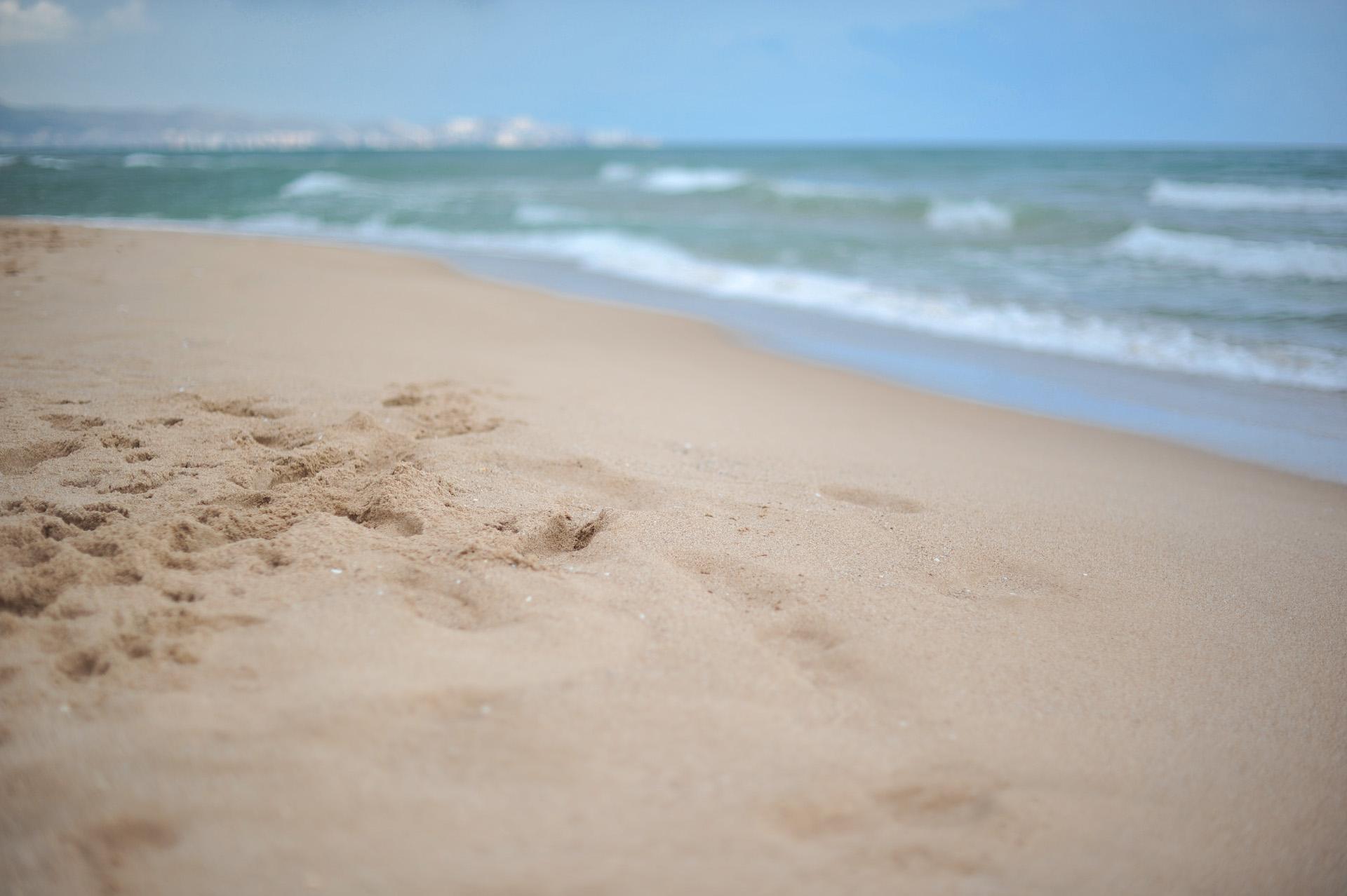 Ein Strand für mich allein