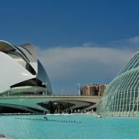 Zu Besuch in Valencia, Spanien