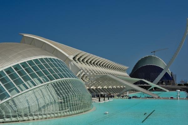 Zu Besuch im spanischen Valencia im Sommer