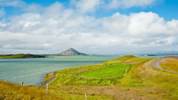 Am Myvatn See, auch Mückenser genannt, hatten wir richtig Glück und konnten ein paar Natur- und Landschaftsfotos auf Island machen